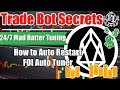 How to Auto Restart FOI Auto Tuner for HAAS Online Mad Hatter Auto Tuning