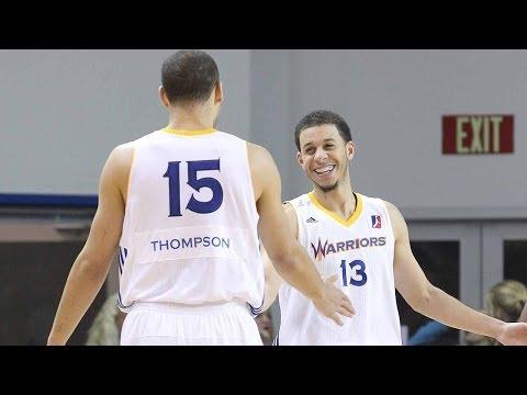 Santa Cruz Warriors Splash Brothers: Seth Curry & Mychel Thompson