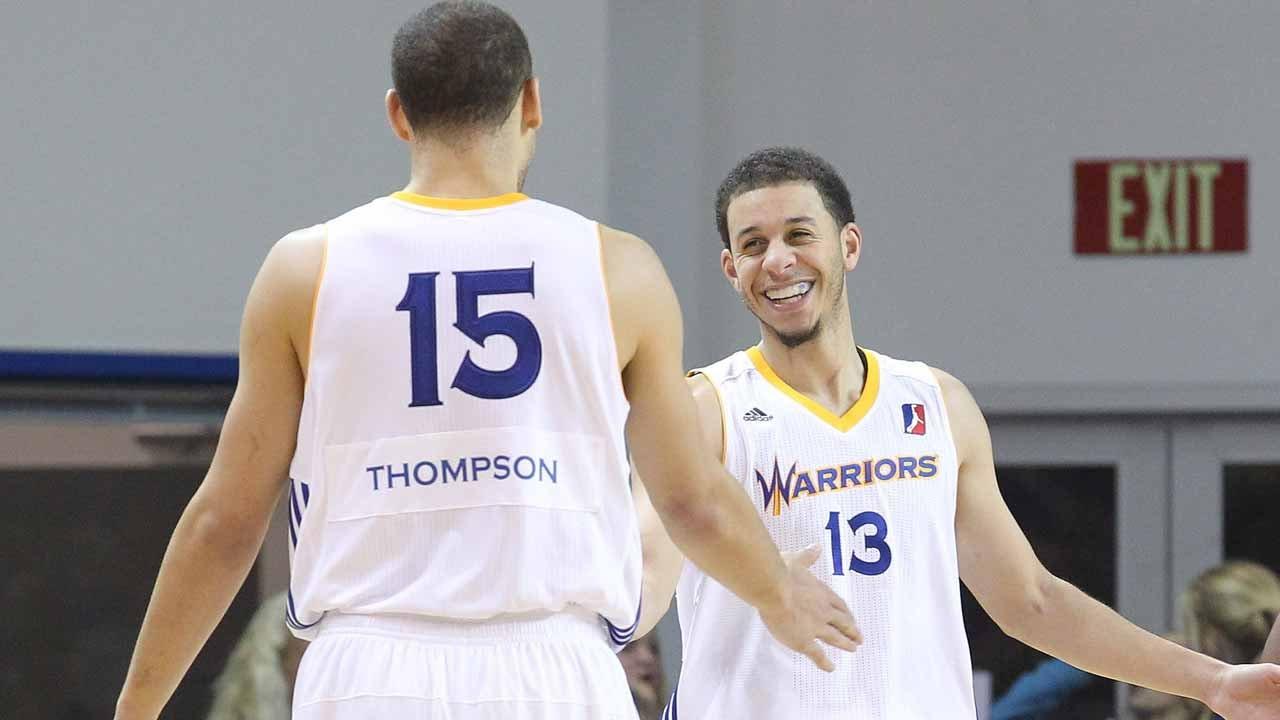 Santa Cruz Warriors Splash Brothers: Seth Curry & Mychel ...