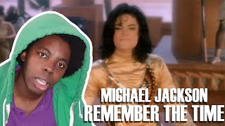 This Is A Masterpiece!! Michael Jackson - Remember The Time (REACTION!!!)
