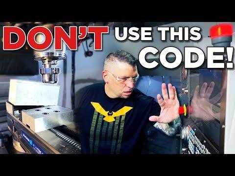 G & M Code | This Code Will CRASH Your Machine - TITANS of CNC Vlog #53