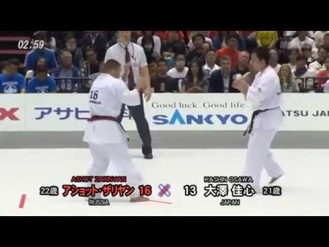 Kashin Osawa (Japan) Vs Ashot Zarinyan (Russia)/Winner By Decision