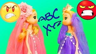Búp bê CHIBI baby doll  CHIẾC VÁY MỚI - SỰ GANH ĐUA, ĐỐ KỊ  Nữ hoàng băng giá Elsa
