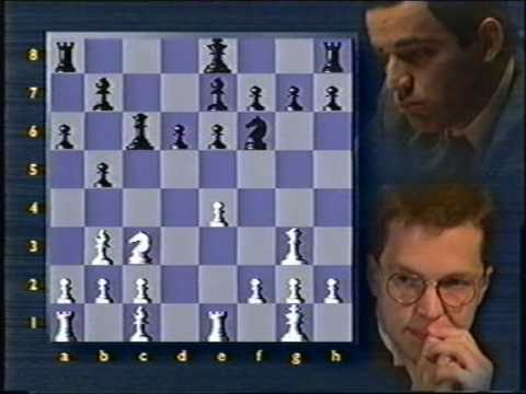 Short v Kasparov 1993 Game 16