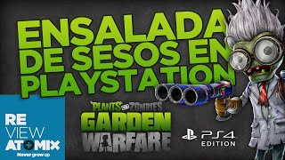 REVIEW: PLANTS VS ZOMBIES GARDEN WARFARE [PLAYSTATION 4]