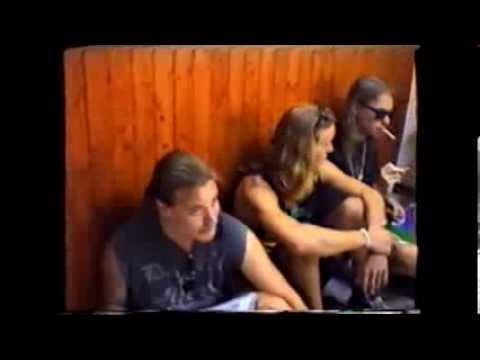 TIAMAT Live at ISRAEL  1993   Interview in PSYCHO TATTOO Tel Aviv