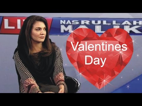 Orya Maqbool Jan Debate with Reham Khan on Valentine Day 2016