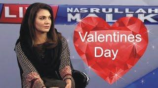 Orya Maqbool Jan Debate with Reham Khan on Valentine Day 2016