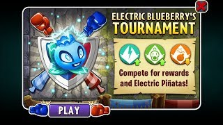 Plants Vs Zombies 2 Battlez Week 46 Over 2.1 Mill No Premium Loadout (Electric Blueberry)