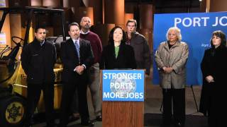 Cantwell Tour: Stronger Ports, More Jobs