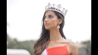 Miss Grand India 2018 Meenakshi Chaudhary:  Stop the War and Violence Campaign.