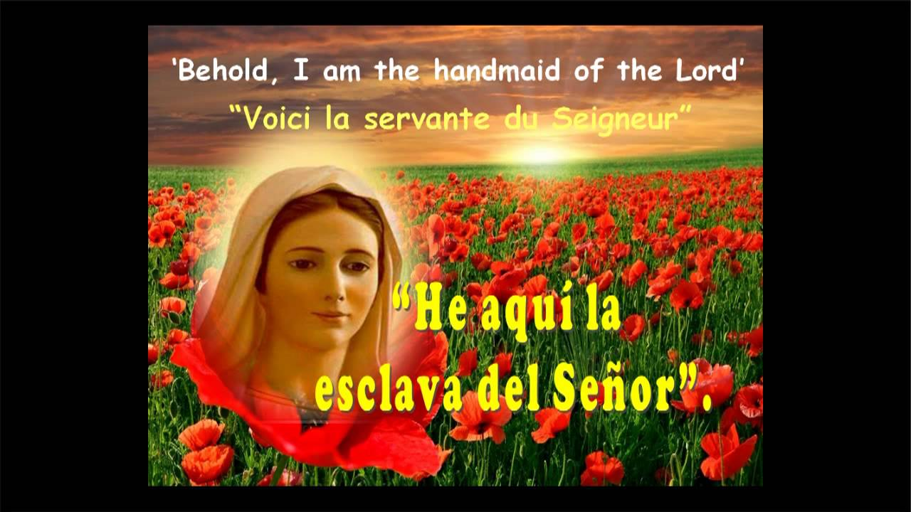 La canci n m s bella eres t mar a mes de mayo a mar a for Cancion jardin de rosas en ingles