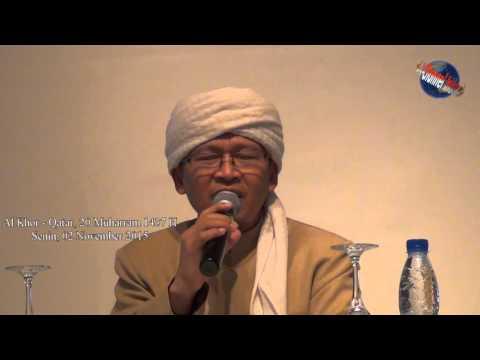 """KH. Abdullah Gynastiar  - Al Khor - Qatar  - """"5 Us"""". Bag 1"""