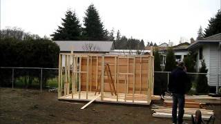 Yard Kit 12 X 8 Shed Assembly