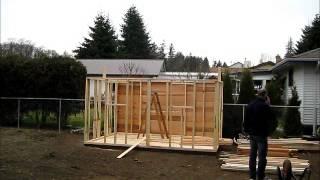 Yard Kit 12 X 8 Shed Assembly