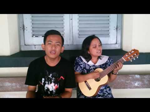 P.E.L.U.K by Dee Lestari feat Aqi Alexa [cover] by Pramaditya and me