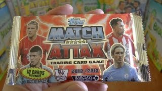 PACK OF THE DAY #122 Topps Match Attax Premier League 2012/2013 Trading Cards