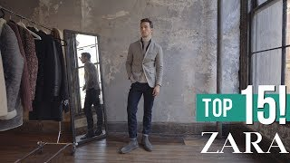 MY TOP 15 ZARA PIECES THIS FALL/WINTER