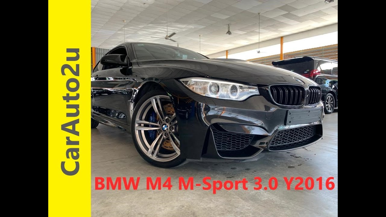 BMW M4 M-SPORT 3.0T YEAR 2016 UNREGISTERED - RM340,000.00