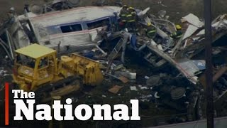 Amtrak 188 train crash in Philadelphia