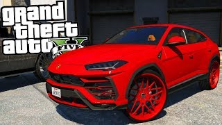 2018 Lamborghini Urus on Forgiatos! - GTA 5 Real Hood Life 2 - Day 86