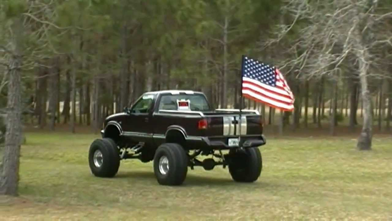 DRIVE A FLAG / TRUCK FLAGPOLES - YouTube