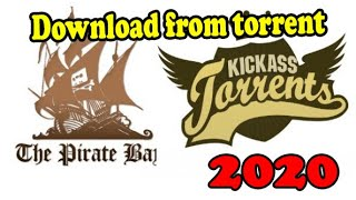 Download from Torrent website on PC 100% Working without any seeders