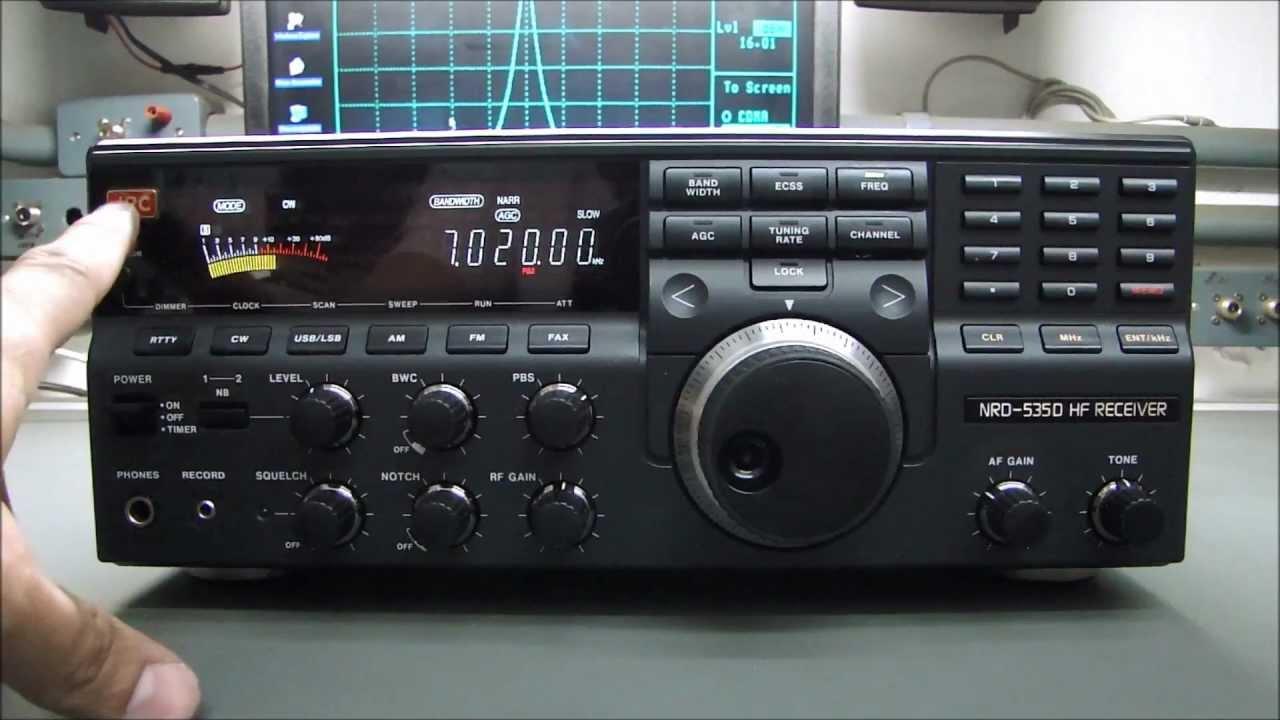 Test Tuner Yaesu frt 7700 e comparazione tra Kenwood R1000 e .