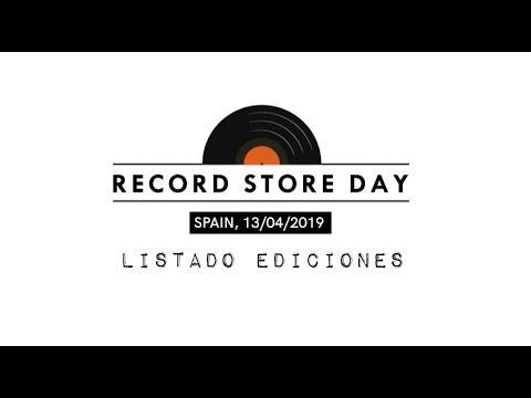 Listado Record Store Day 2019 | Web Oficial Record Store Day