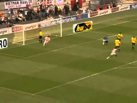 Zlatan Ibrahimovic Super Goal in the History of Football - Ajax vs NAC Breda. Best goal Ever