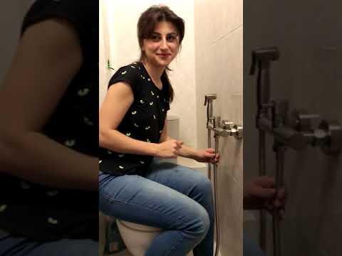 Гигиенический душ AODEYI 02-081B. Часть 2. Установка и использование