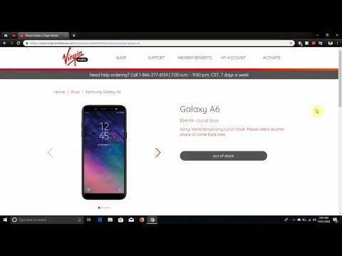Samsung GALAXY A6 | Virgin Mobile USA