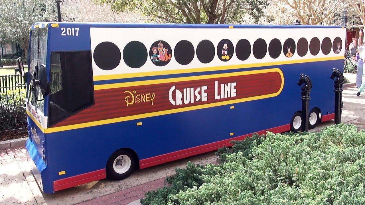 Disney Cruise Line Bus Themed DANCING Pargo Cart