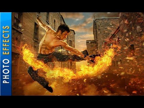 Photo Manipulation - Fire Effects - Photoshop CC Tutorial