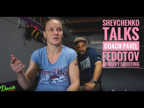 Valentina Shevchenko shares story of Coach Pavel Fedotov robbery shootout in Peru