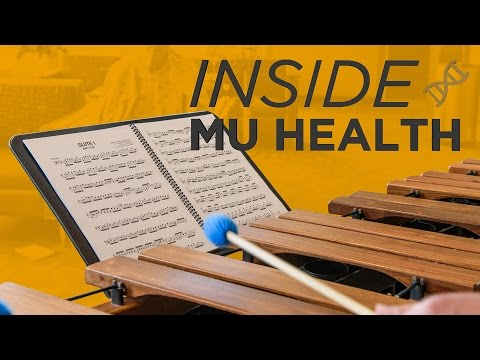 Inside MU Health: Athlete Visit, Music Therapy, Journal Club & Employee Forums