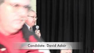 Owen Sound Municipal Election 2010 David Adair - theOwen.com