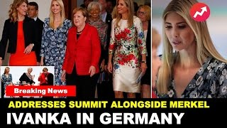 Ivanka Trump in Germany for Women