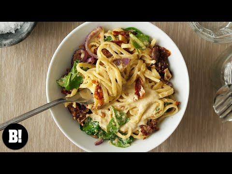 Hummus Pasta Recipe!