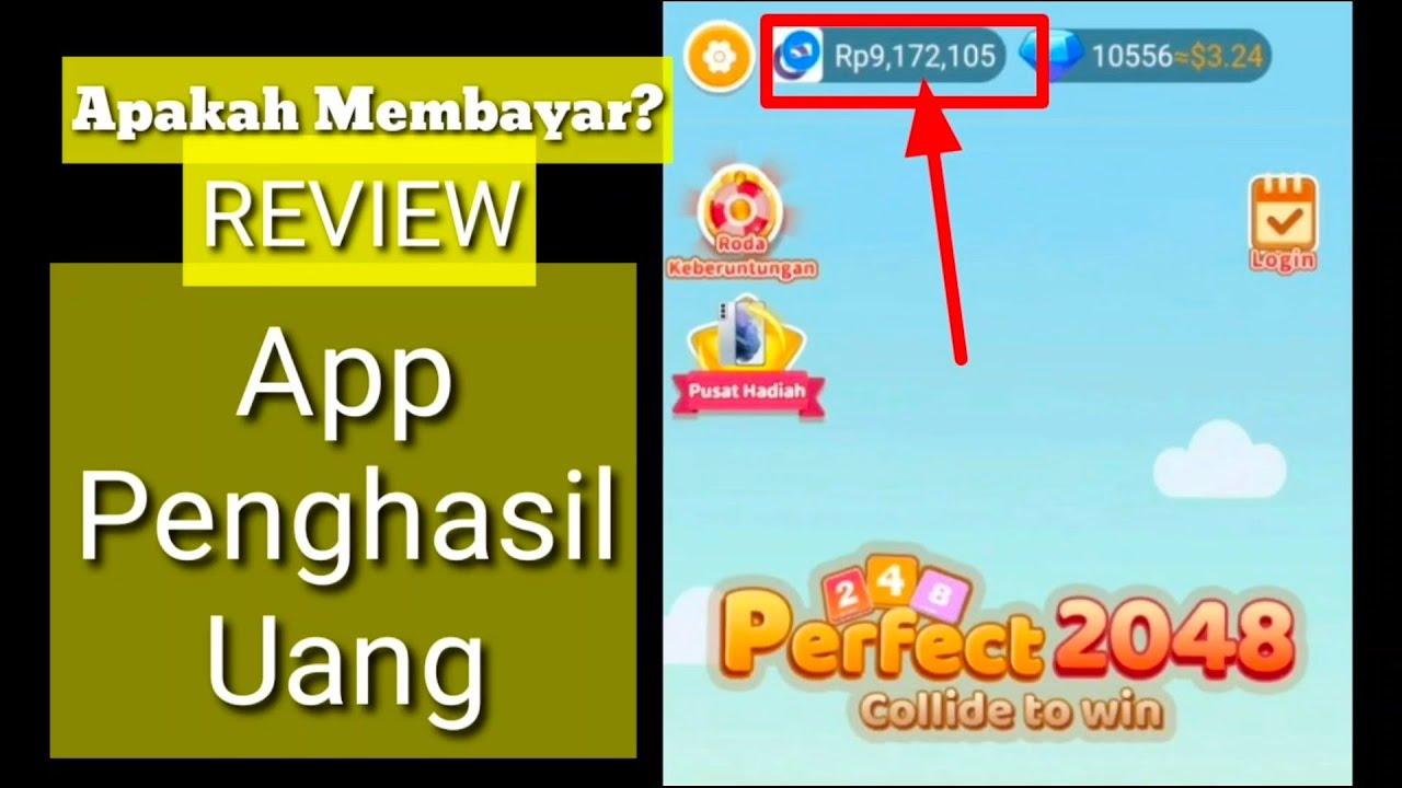 REVIEW, Aplikasi Penghasil Uang Perfect 2048, Apakah ...