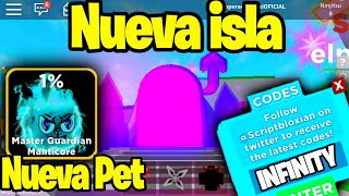 UPDATE NINJA LEGENDS MYTHICAL SOUL ISLAND | CODIGOS DE NINJA LEGENDS
