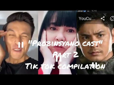 Probinsyano Cast (meron Ng Official Tik Tok Acct.si Coco Martin)-Tik Tok Compilation #9