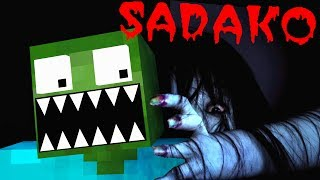 Monster School: Sadako horror movie challenge - Minecraft Animation
