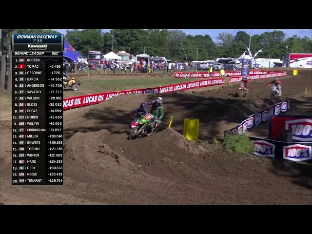2019 Ironman National - 450 Moto 2 Eli Tomac to the lead