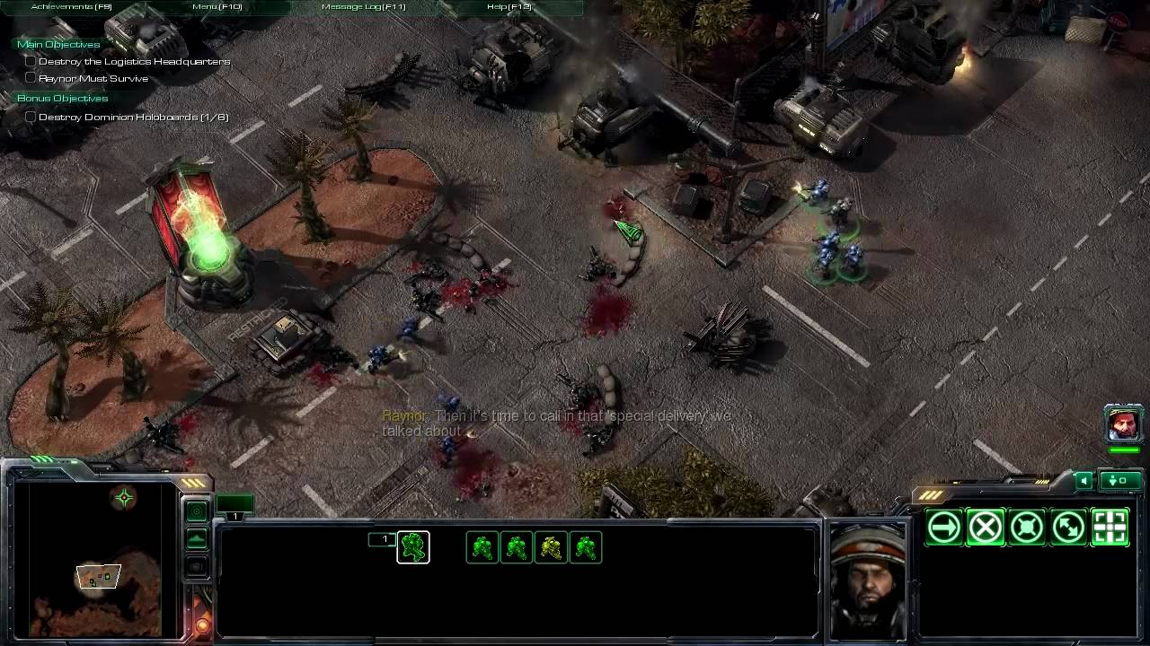 StarCraft 2 PC Gameplay