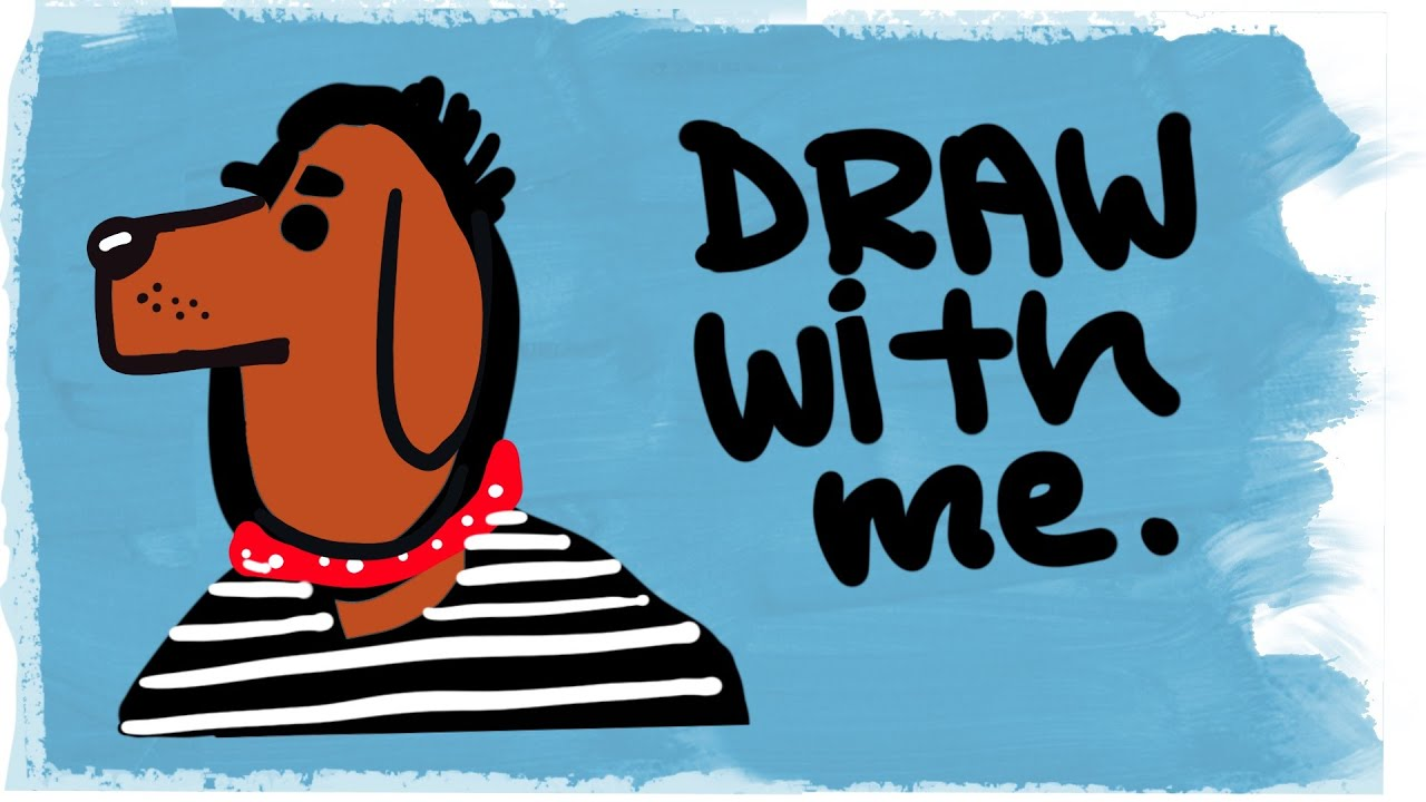 Draw With Me: Dogs