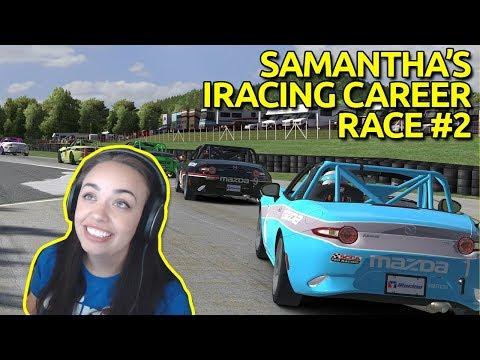 Race #2 - Samantha\'s iRacing career