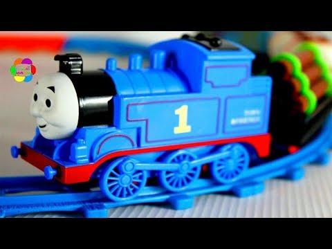 لعبة القطار توماس الحقيقى الجديد للاطفال العاب القطارات بنات واولاد Real Tomas Train Game Toy