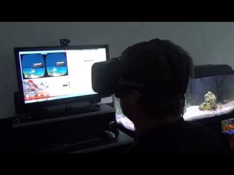 Demo Desk Oculus Rift - Première fois avec mon DK2