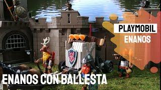 Playmobil Referencia 9341 - Enanos con Ballesta y Ponys